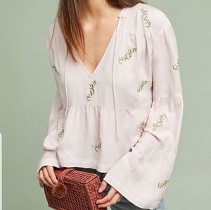 McGuire Rosa embroidered peasant top